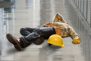 injured mesa construction worker
